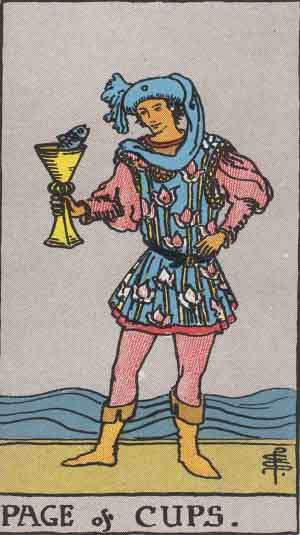 Page of Cups